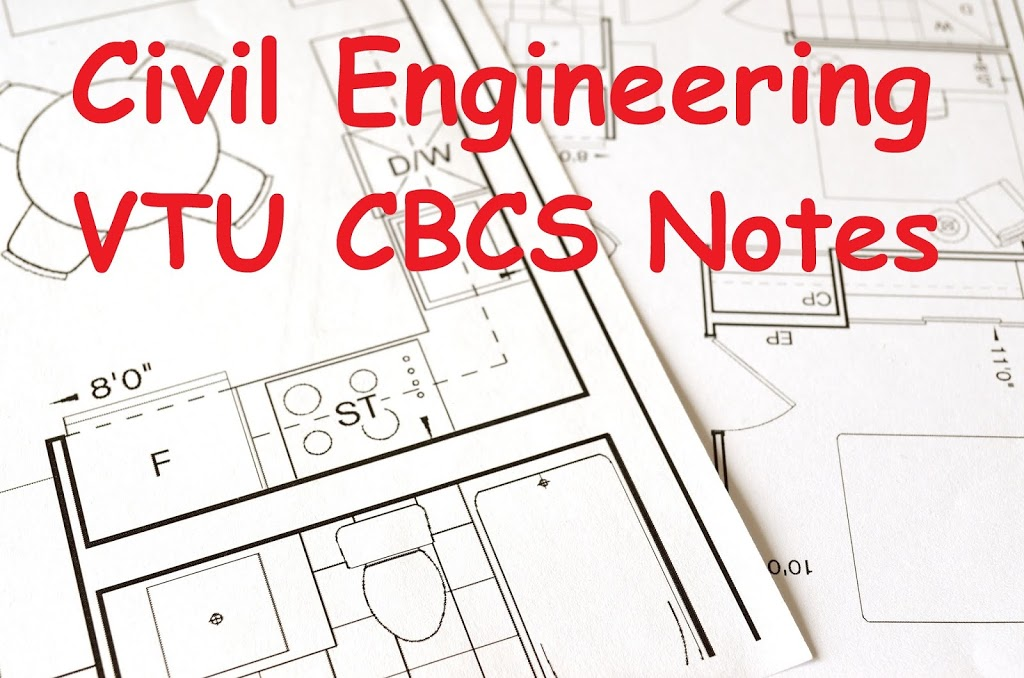 Civil Engineering VTU CBCS Notes