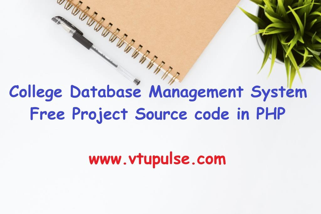 College Database Management System