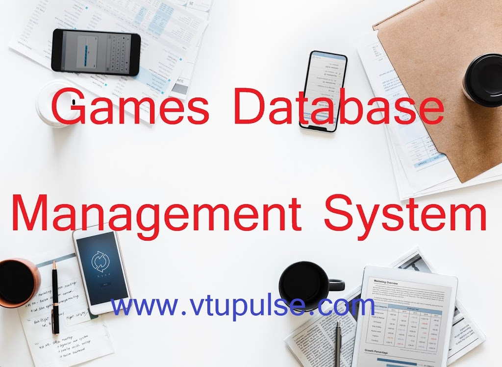 Games Database Management System