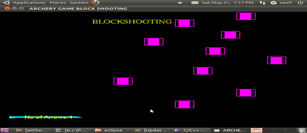 Archery Game Computer Graphics Project in OpenGL Source Code