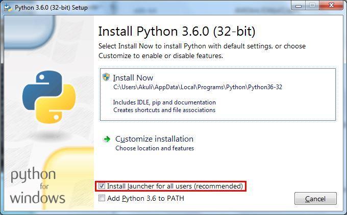 Downloading and installing Python 3 - VTUPulse