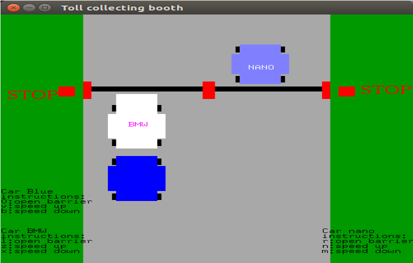 Toll Gate Collection