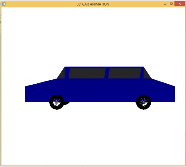 3D CAR ANIMATION 2