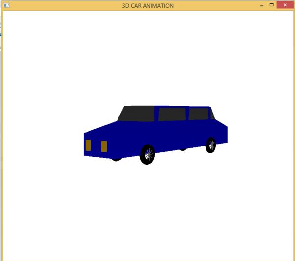 3D CAR ANIMATION 3